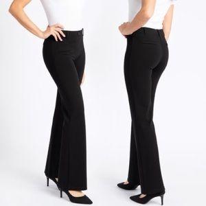 Betabrand Dress Pant Yoga Pants Black Size XL LONG